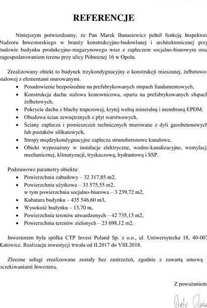 referencje ctp